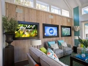 living room of hgtv smart home