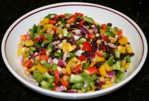 Easy Mexican Bean Salad Recipe