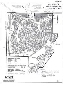 Proposed Plat Map for Villages of Fruitland Park